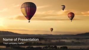 気球で大空へ飛び立つ