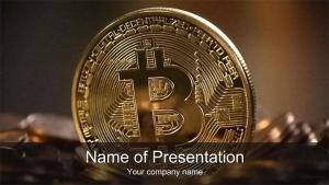 仮想通貨ビットコインのプレゼン用テンプレート