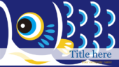 テーマ「鯉のぼりのイラスト」